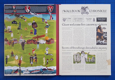 Wallbook Childrens History Chronicle Timeline Of British review.