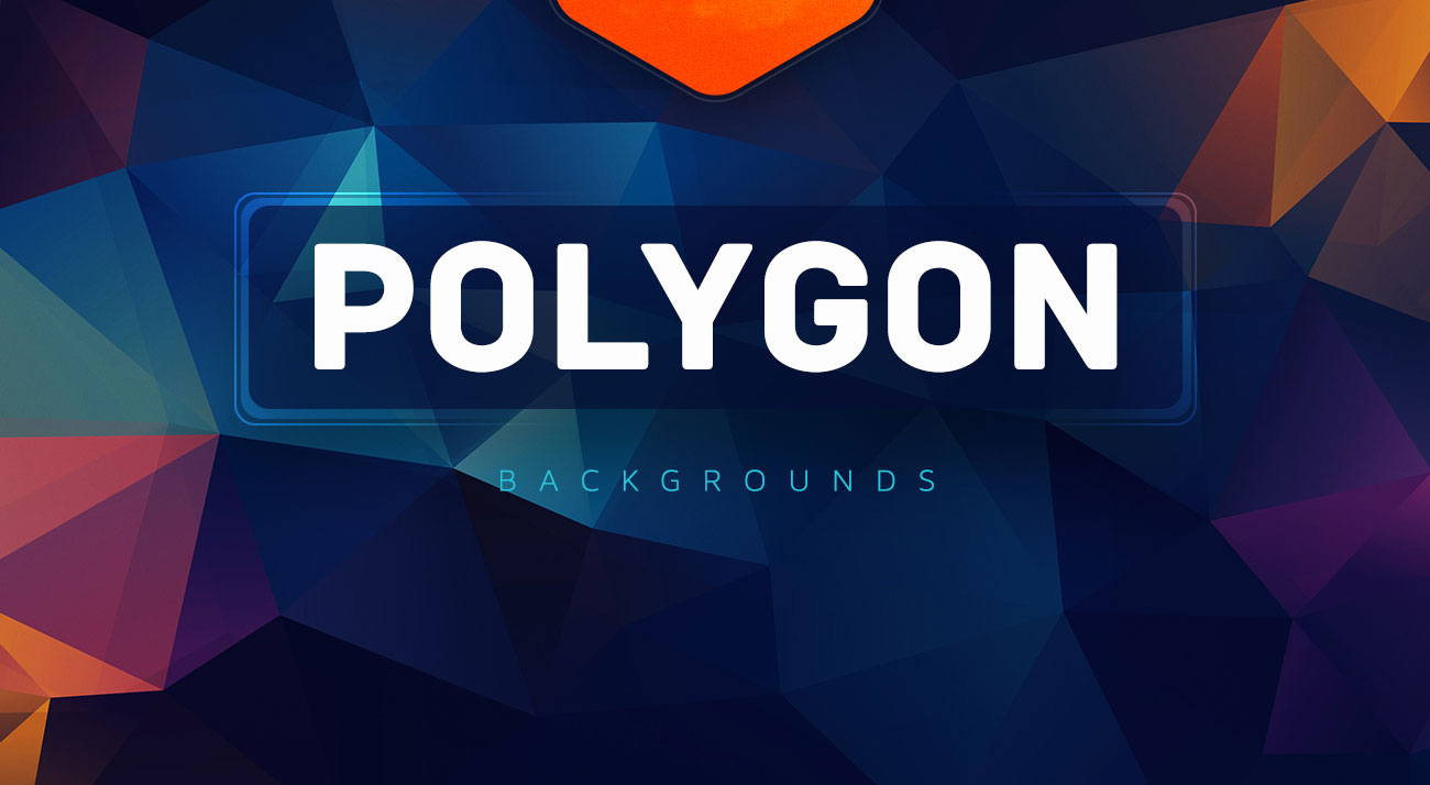 290+ Best Free Geometric & Polygon Background Packs