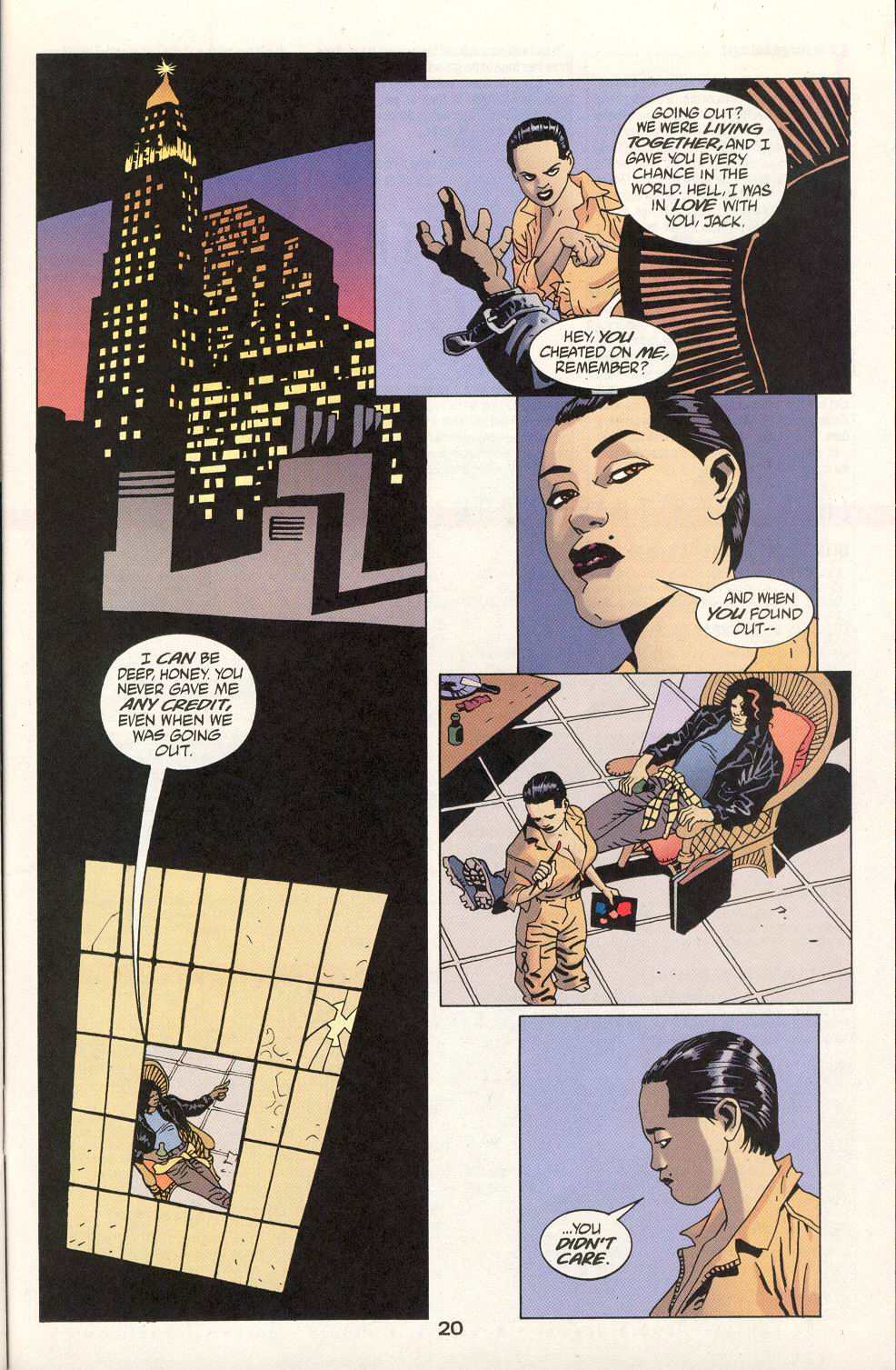 Read online 100 Bullets comic -  Issue #21 - 21