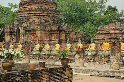 Was in Ayutthaya Thailand zu sehen