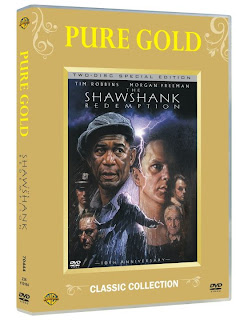 The Shawshank Redemption,: the special edition DVD,part of our Pure Gold classic collection!