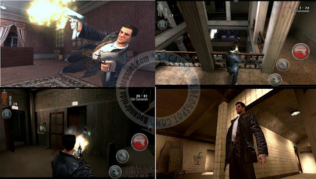 Max Payne mobile Apk Data mod terbaru Android