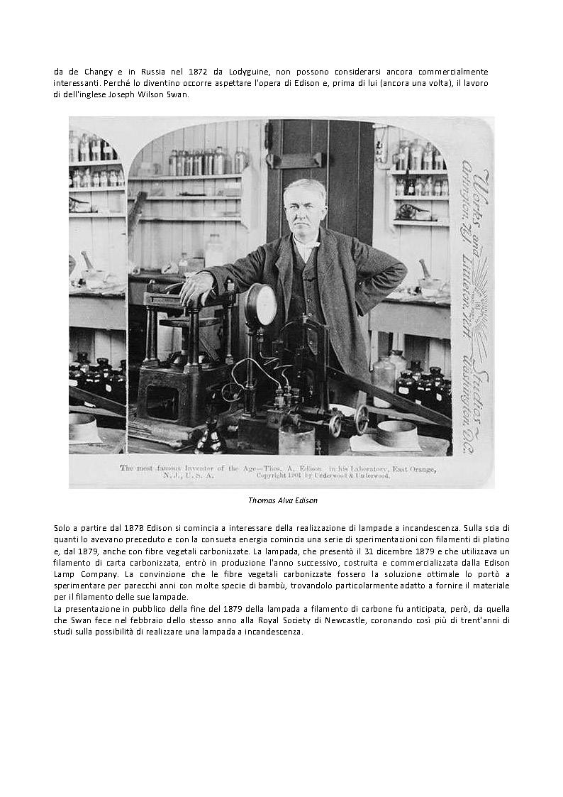 storia della lampadina : la storia della lampadina