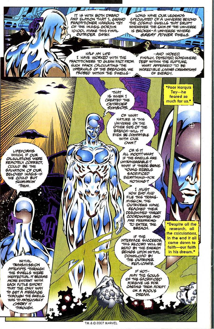 Read online Silver Surfer (1987) comic -  Issue #111 - 30