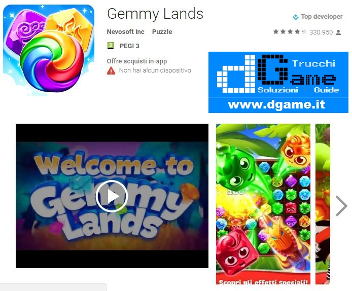 Soluzioni Gemmy Lands di tutti i livelli | Walkthrough guide