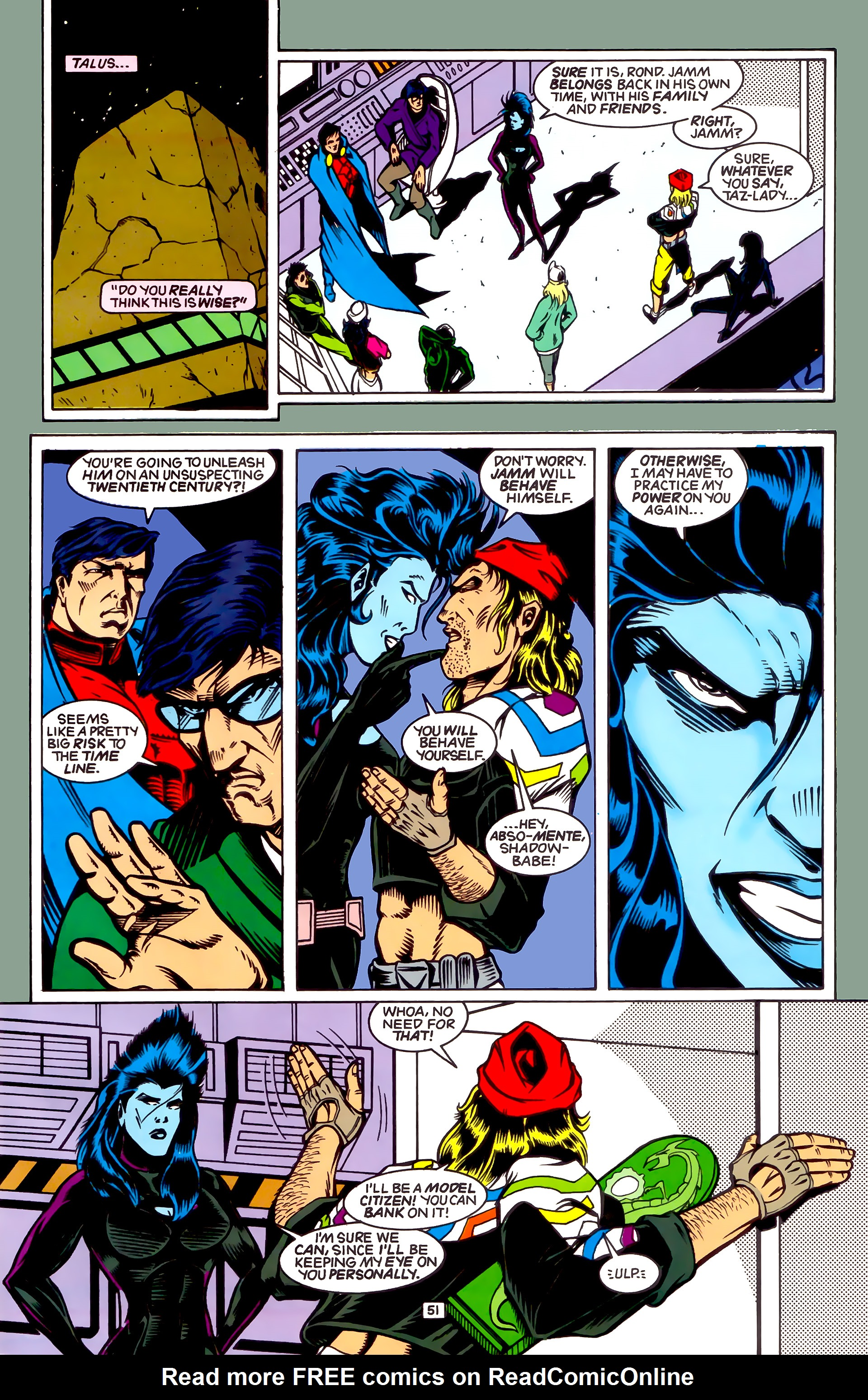 Legion of Super-Heroes (1989) _Annual_4 Page 51