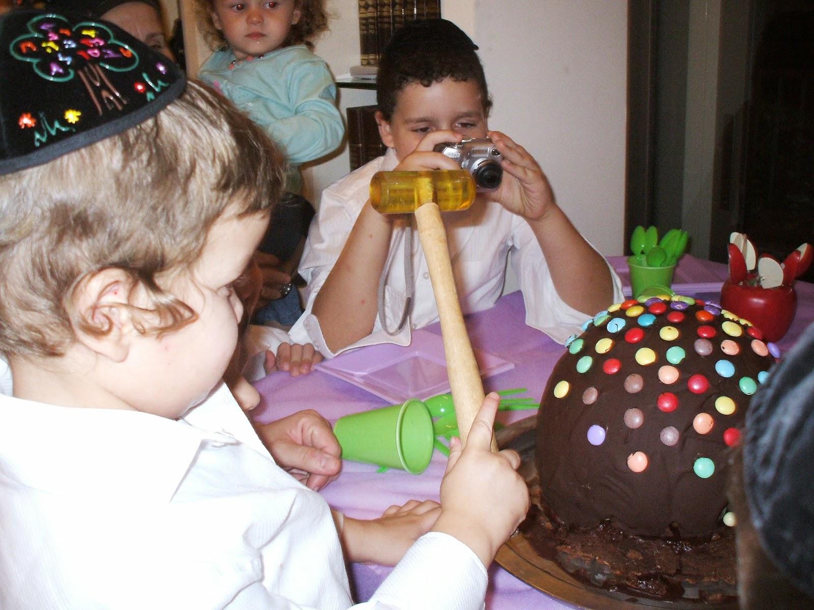 DSCF1227 - עוגה עם הפתעה בפנים