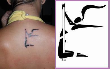 Pole Dance Tattoo