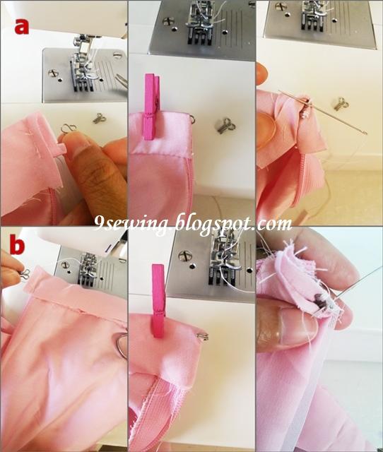 cara menjahit rok payung