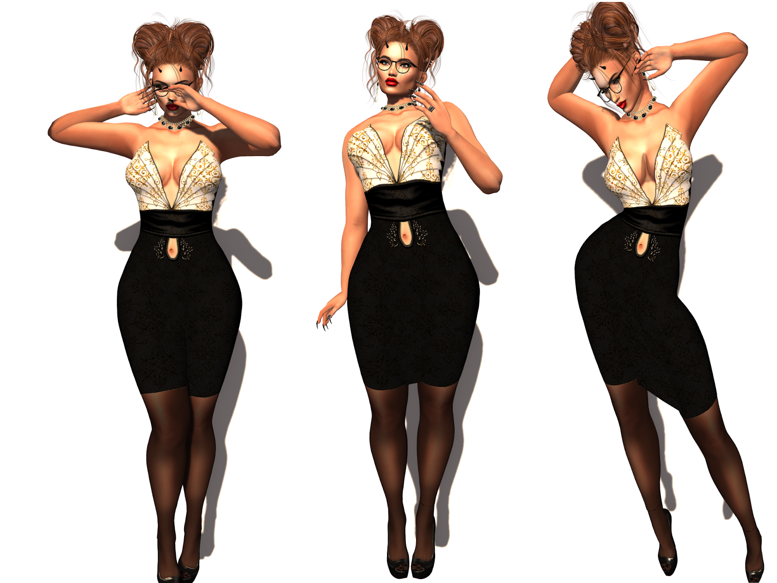 Caoriifashionfrenzy Style And Fashion In Second Life Look 24
