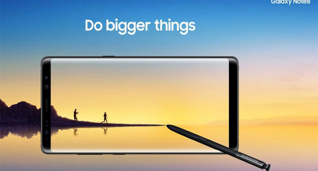رسميا سامسونج تكشف عن هاتف Galaxy Note 8 بمواصفات قوية كأفضل هواتف 2017