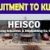 HEISCO Latest Job Recruitment to Kuwait - Shutdown Jobs
