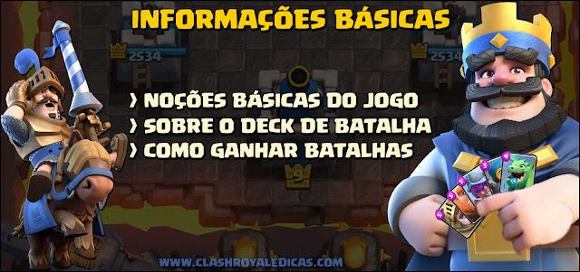 Noções básicas de batalha - Clash Royale