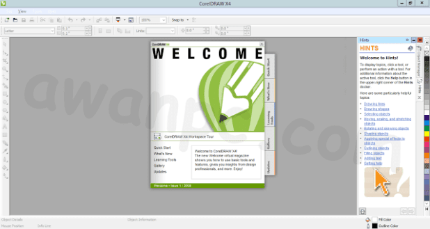 download corel draw x4 dan keygennya
