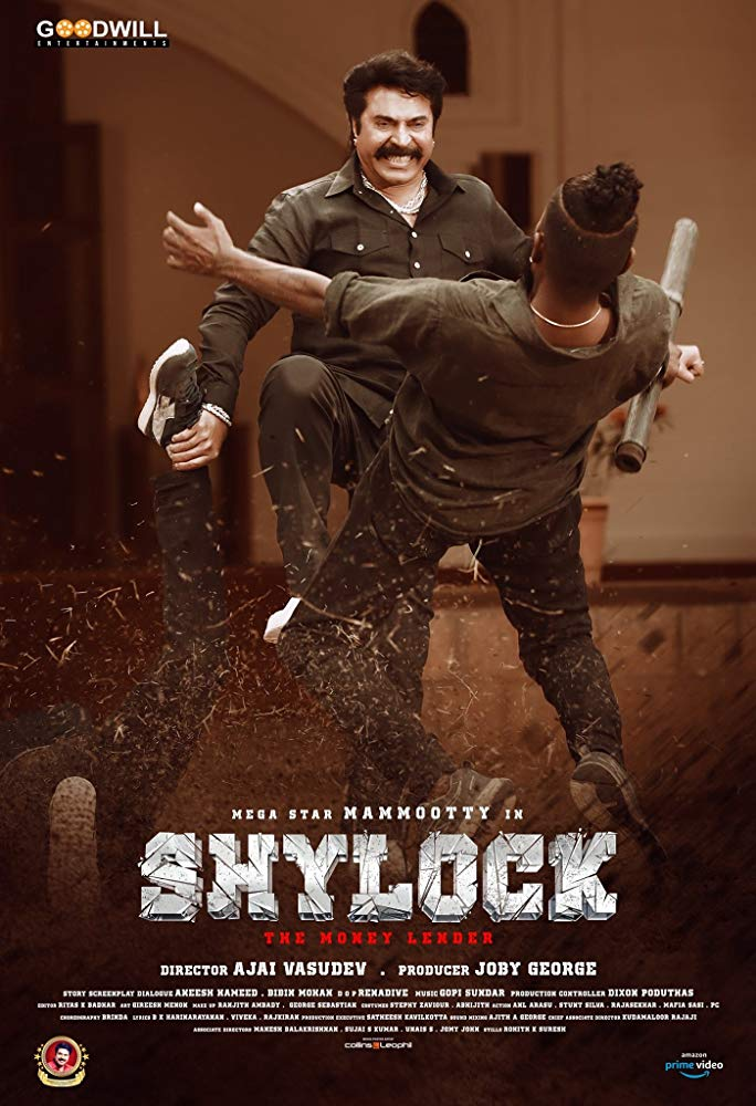 Shylock (2020) Malayalam 350MB HDRip 480p EsubS