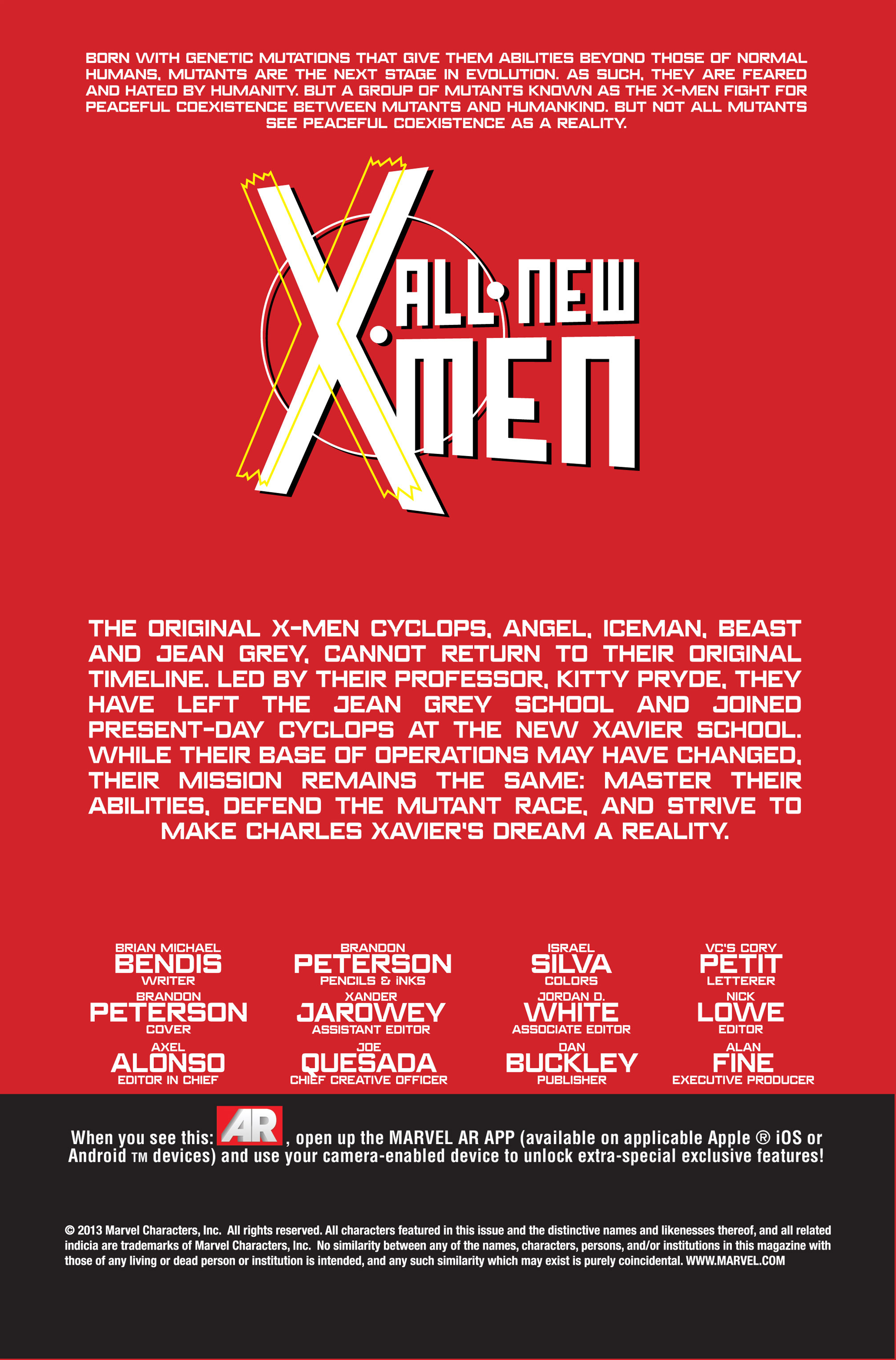Read online All-New X-Men (2013) comic -  Issue # _Special - All-Different - 23