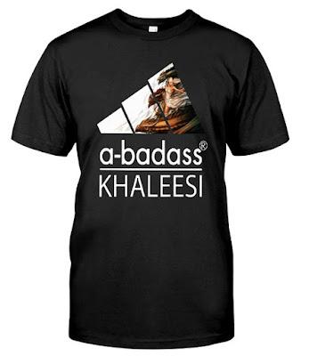 A Badass Khaleesi Game Throne Dragon Wing Adidas Hoodie Sweatshirt Sweater