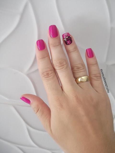 Esmalte Bali Novo Toque com Película Rosa Limão