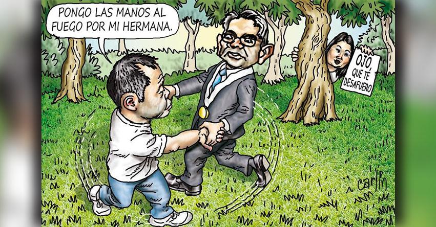 Carlincaturas Miércoles 18 Abril 2018 - La República
