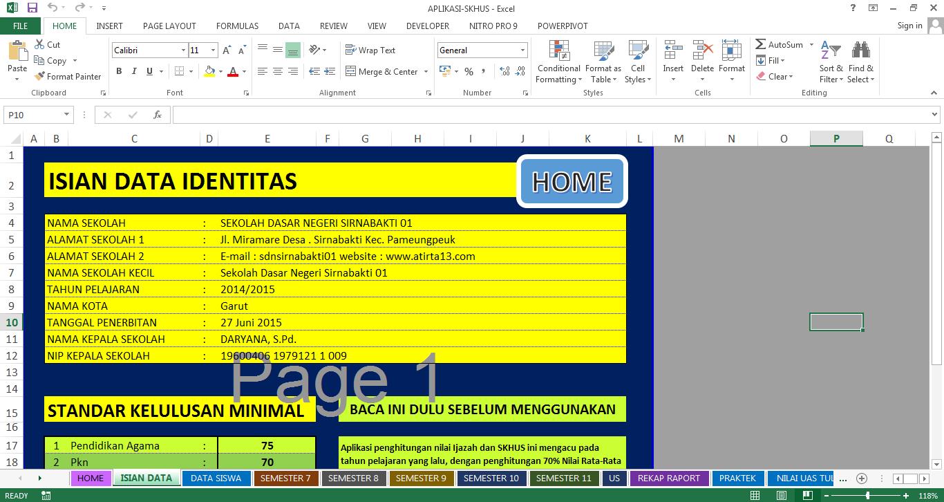 Download Aplikasi Olah Nilai Skhus Amp Ijazah Blog Sekolah Dasar
