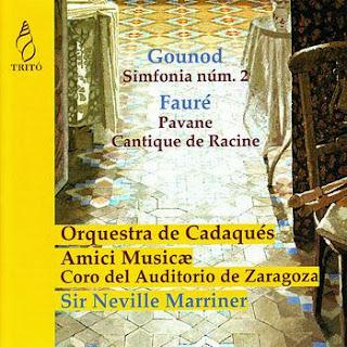 Charles Gounod Pavane; Cantique de Jean Racine; Sinfonía No. 2
