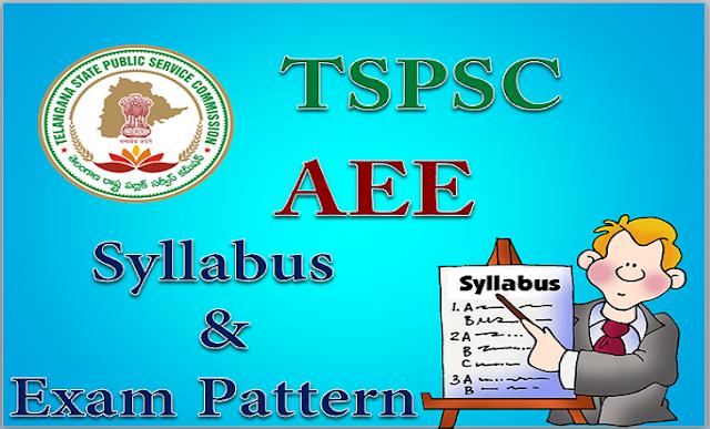 TSPSC AEE 2016 Telangana Assistant Executive Engineer