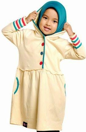 Busana Muslim Gamis Untuk Anak Perempuan Muslimah