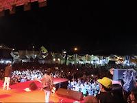 Penampilan Azmi Pukau Para Penonton di Lampung Fair