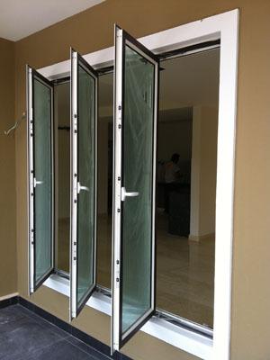 Teralis Kusen Aluminium Kaca Jendela Pintu