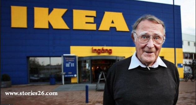 قصص نجاح | قصة نجاح مؤسس شركة ايكيا IKEA للأثاث - إينغفار كامبراد