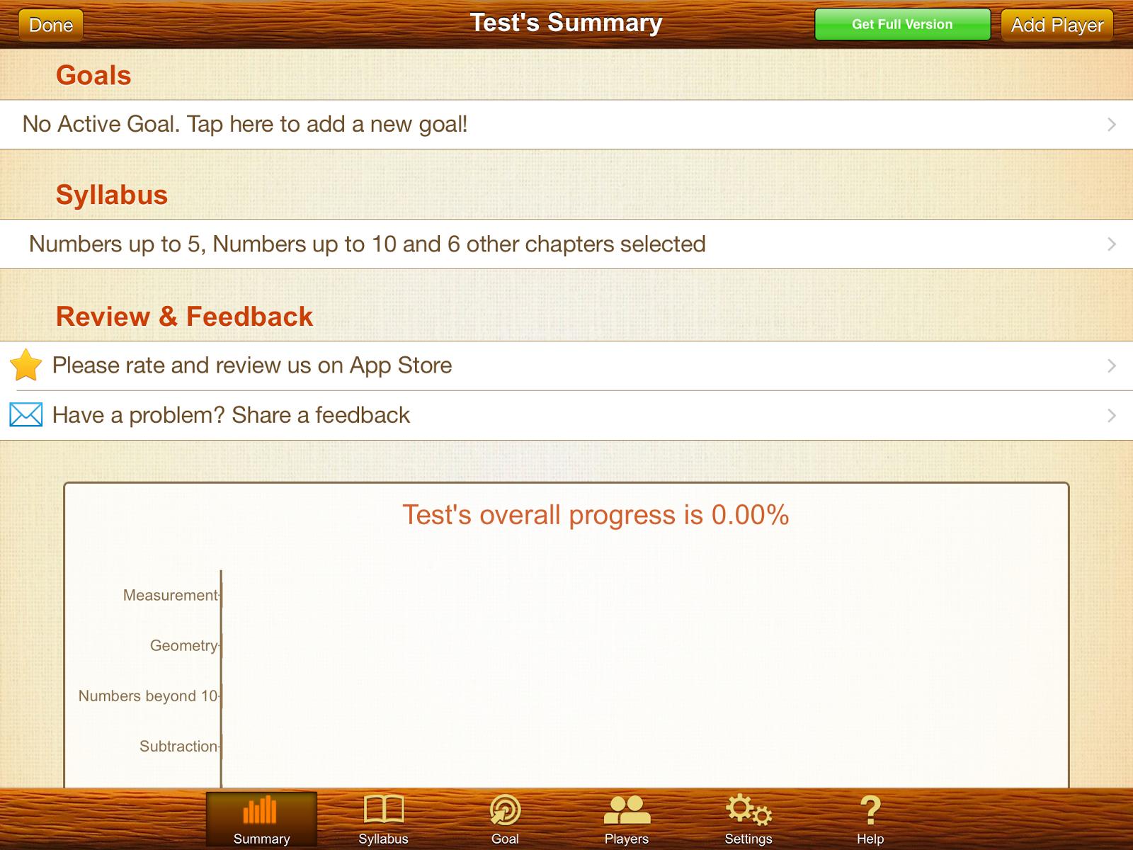 Splash Math app #review parent dashboard screenshot