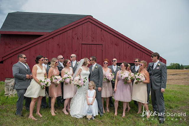 June outdoor wedding