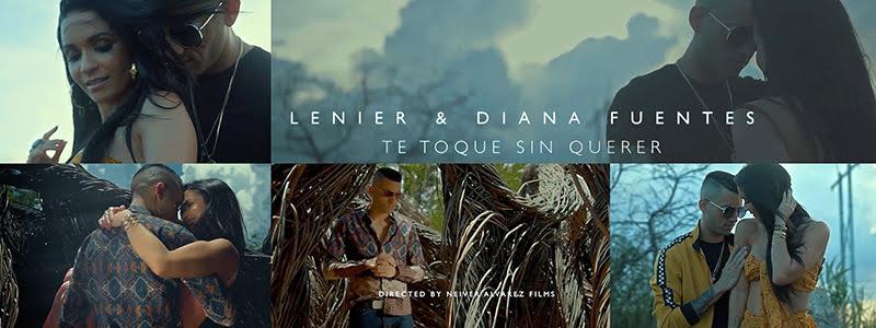 Lenier y Diana Fuentes - ¨Te toqué sin querer¨ - Videoclip - Director: Neiver Álvarez. Portal Del Vídeo Clip Cubano