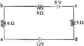 Rangkaian listrik dengan dua sumber tegangan, hukum 2 kirchhoff