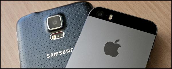 Apple e Samsung faz parceria