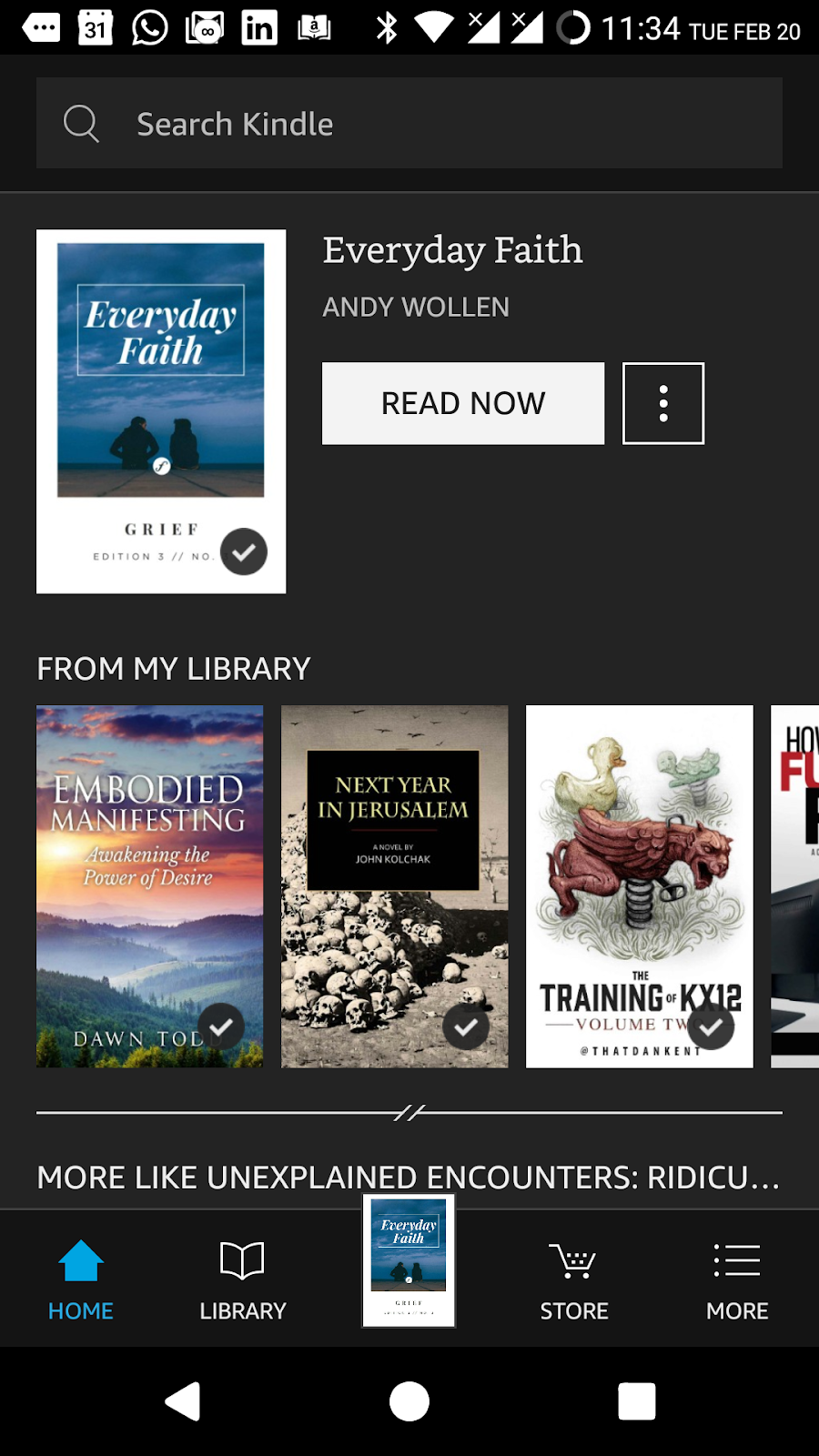 How to sideload eBooks on the Amazon Kindle App on your Android