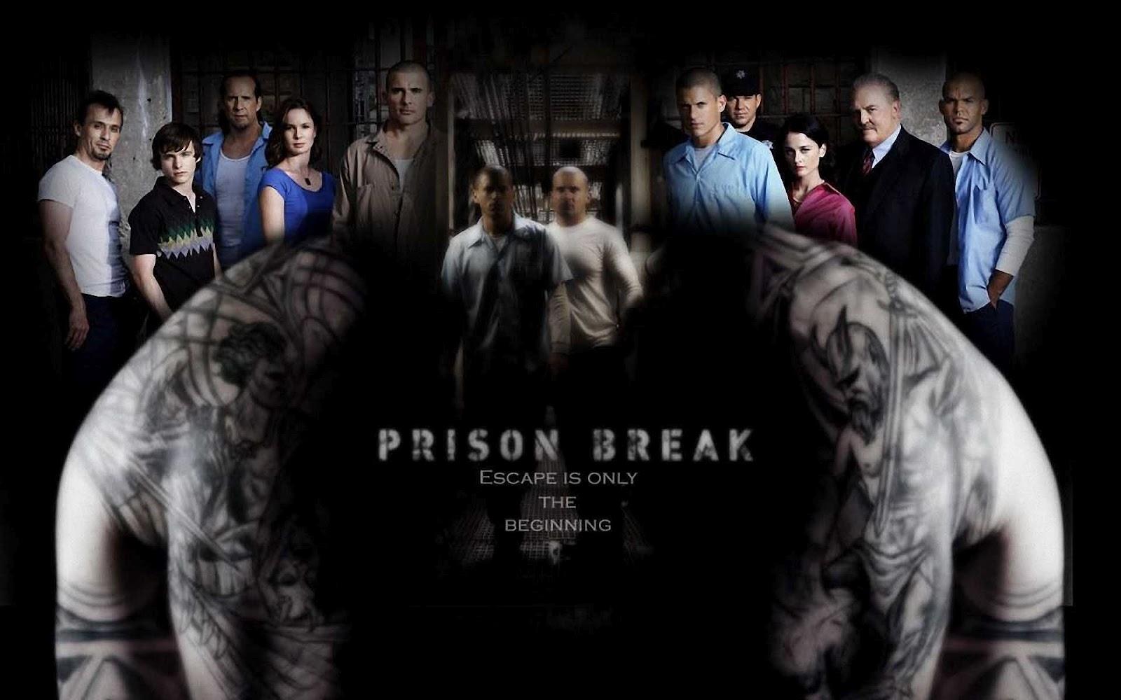 Imagen promocional de la primera temporada 'Prison Break'