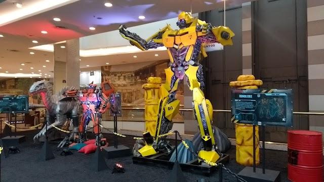 """Shopping Vila Olímpia recebe exposição internacional """"Transformers"""""""