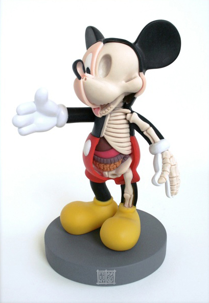 dissected Mickey Mouse