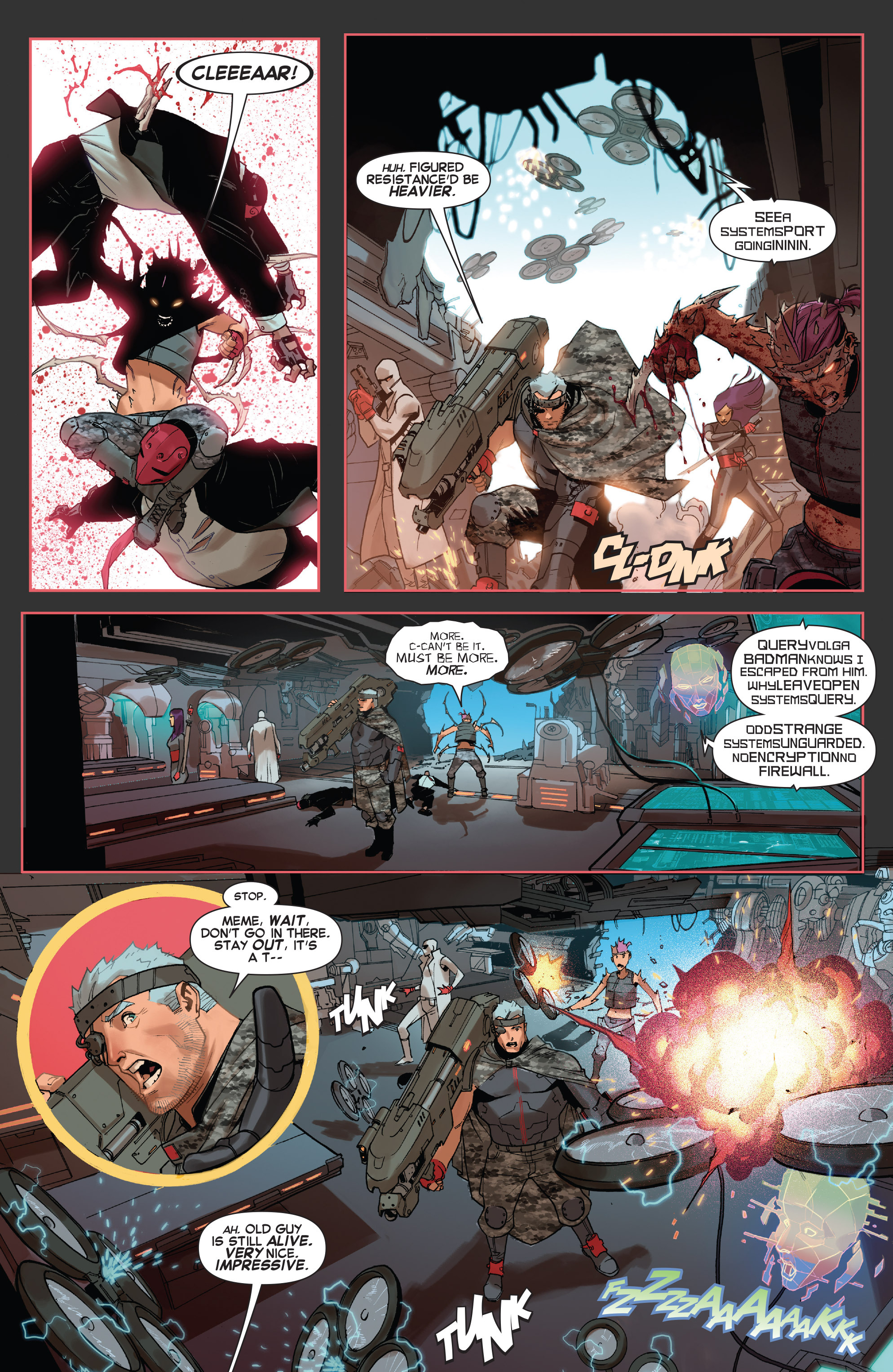 Read online X-Force (2014) comic -  Issue #5 - 10
