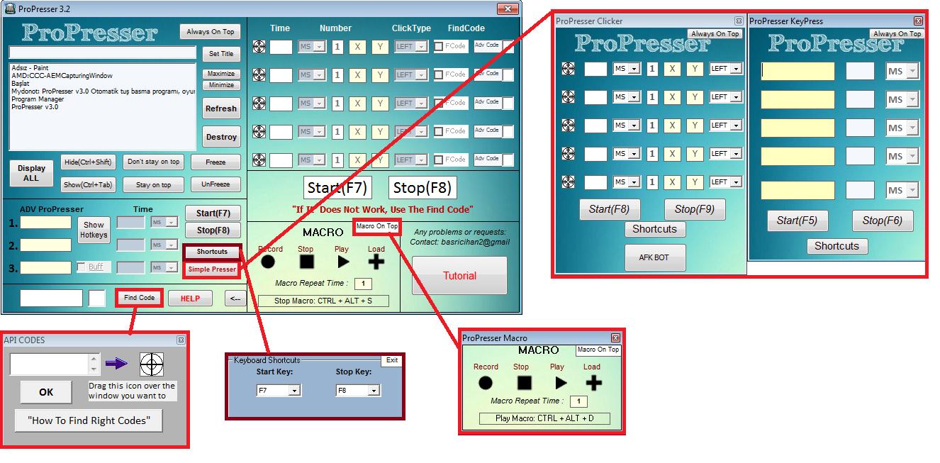 ProPresser: ProPresser v3 3!!,auto key press,keyhelper, game