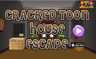 Juego Cracked Toon House Escape Solución