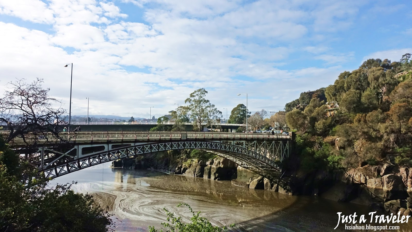 塔斯馬尼亞-景點-推薦-激流峽谷-Cataract-Gorge-Reserve-國王大橋-King's-Bridge-旅遊-自由行-澳洲-Tasmania-Tourist-Attraction-Australia