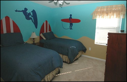Decorating theme bedrooms  Maries Manor surfer