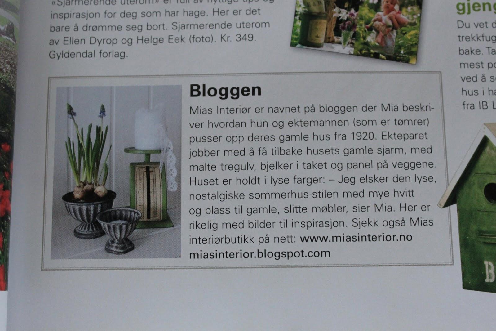 Enorm Mias Interiør / New Room Interior / Interiørkonsulent Maria MP-34