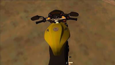 HONDA HORNET 2012 Para GTA San Andreas