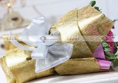 Kertas Buket Bunga / Flower Bouquet Wrapping Paper (Seri CS)