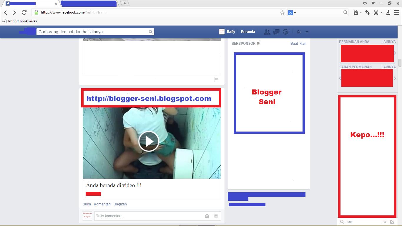 """Awas Malware Facebook Terbaru ! Dengan Nama """" Anda Dalam Video Ini """""""