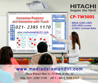 jual projector hitachi interactive