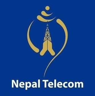 Nepal Telecom Telecommunications company in Nepal-- logo Nepal Telecom